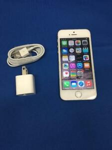 IPHONE 5S 16 GB silver/black colour Factory UNLOCKED  $124.99
