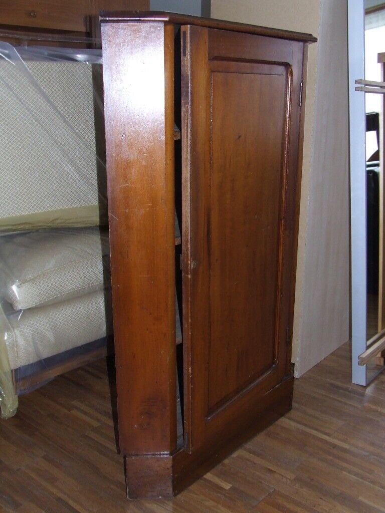 Corner Unit Period Item Mahogany Wood Included Edinburgh Delivery
