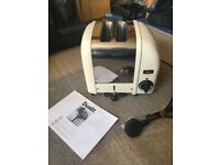 Dualit Classic 2 Slot Vario Toaster (never plugged in)