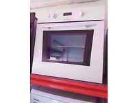 Electrolux built in electric oven and grill , White