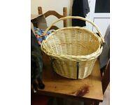A good size Bike Basket with handle