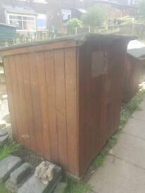 Free shed need to go tonight dismantle it yourself and take away