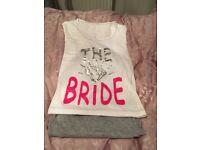 Bride pyjamas.
