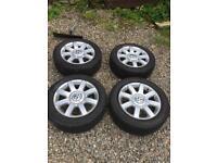 """golf tdi 16"""" alloy wheels"""