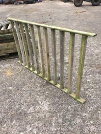 Balustrade for decking
