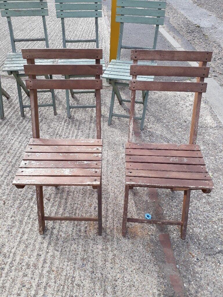 Garden Chairs - Wood