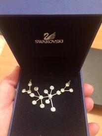 Genuine Swarovski crystal necklace in original box.