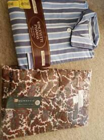 2 x men's new pyjamas large