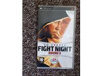 Psp fight night