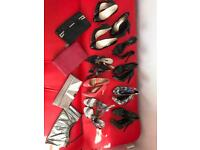 Shoes size 6 and matching handbags, LK Bennett, Office, Jones and M&S