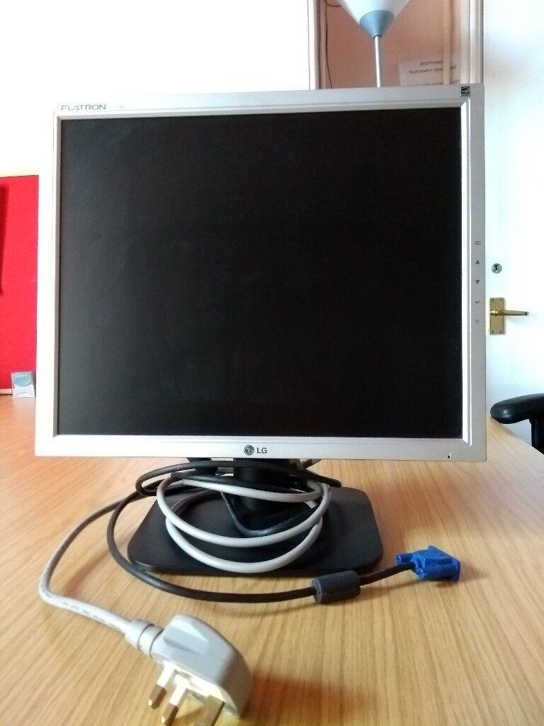 LG Flatron L1718S LCD 17 inch computer screen | in Norwich, Norfolk |  Gumtree