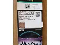 2 x JEFF LYNNE ELO TOUR TICKETS 24TH JUNE. LONDON WEMBLEY STADIUM