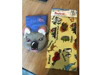 Australian tea towel & oven glove