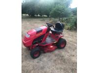 """Countax ride on lawn mower 36"""" deck great condition"""