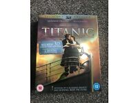 Titanic - 3D Blu Ray Collectors Edition