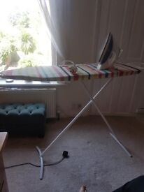 Ironing board and Iron *Good working condition!*