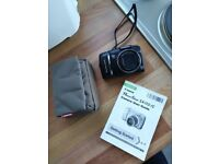 Canon Powershot SX110is Digital Camera and Manfrotto Case