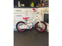 Girls Brand New 16 Inch Blossom Bike