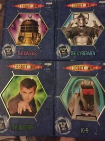 4 doctor who files books