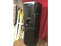 BLACK BEKO FROST FREE FRIDGE FREEZER FULLY WORKING,CAN DELIVER