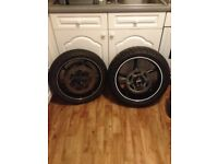 Front and rear wheels Yamaha r6 2003-2005
