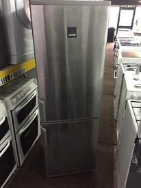 Zanussi silver good looking frost free A-class fridge freezer cheap