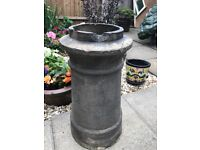 Lovely traditional chimney pot stone vintage