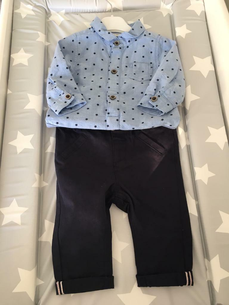 Next outfit boy 3 6 monthin Edenthorpe, South YorkshireGumtree - Next outfit boy 3 6 monthNew never wornBlue chinos and blue star top with vest fastening