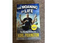 The moaning of life - the Wordly wisdom of Karl Pilkington - BOOK