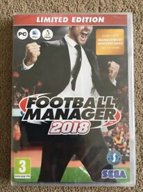 Football Manager 2018 Limited Edition Game for PC/Mac/Linux