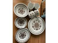 Wood & sons vintage china set