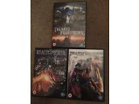 Transformers Trilogy DVD Bundle