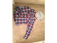 John Lewis boys checked shirt age 5