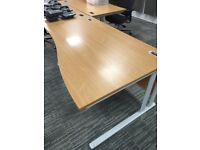 Office Closing, furniture inc desks, chairs, storage, tables, tub chairs and TV's