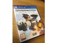 OVERWATCH ORIGINS EDITION PS4 PLAYSTATION 4 BRAND NEW FACTORY SEALED