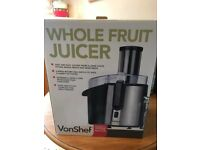 VonShef Whole Fruit Juicer
