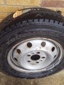 Brand new tyre 205 /75r /16 van