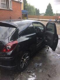 Vauxhall Corsa black edition turbo fully loaded !!!