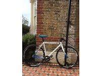 Orbea Dude A20 Fixed Gear bicycle with Mavic Ellipse track wheelset