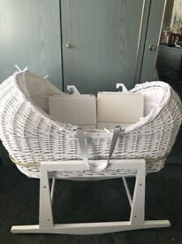 Mothercare Moses basket an stand