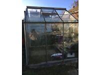 Greenhouse - 245x195cm (Glass and aluminium)