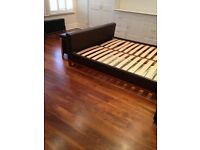 Walnut solid wood floor 20 square metres, 20mm thick