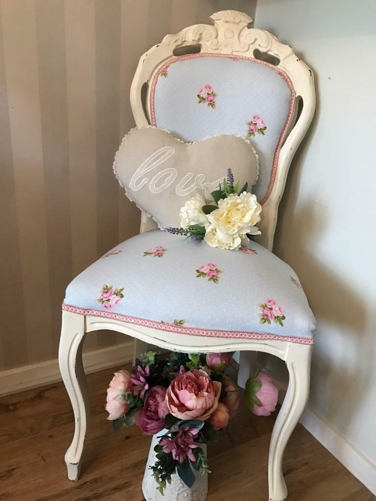 Shabby Chic Bedroom Chair Shabby Chic Bedroom Chair Louis Chair In Seaham County