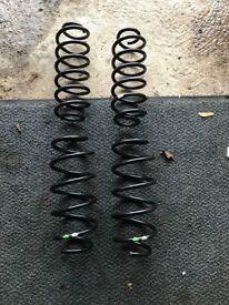 Ford Fiesta MK7 Zetec S springs