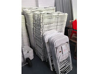 Folding Chairs In White Or Black -
