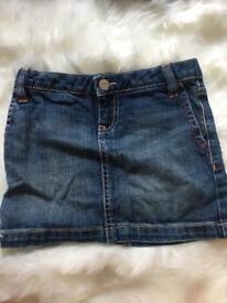 Gap Kids Denim mini skirt