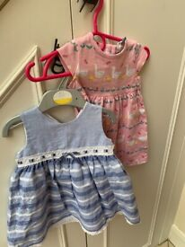 SUMMER CLOTHES FOR BABY GIRL - (3-6 & 6-9 months) NEW