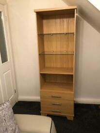 Lovely cabinet Harvey cost over £300 with lights