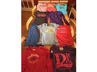 SuperDry Hollister Roxy T-shirt Bundle S/XS
