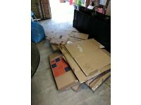 50 Used Moving boxes - various shapes and sizes, all good quality still and moved 1 3 bed house
